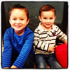 These two little monkeys are my biggest motivation in life.