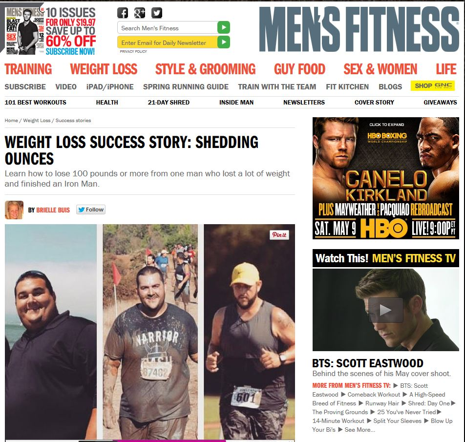 Men's Fitness Article